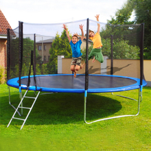 Fast Delivery 16FT Trampoline Home Children Indoor outdoor adults Trampoline Enclosure Net Jumping Mat And Spring Cover Padding