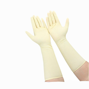 16 Inch Beige Gloves