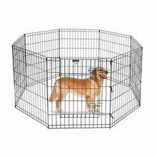 Wholesale Tall Wire Fence Pet Folding Exercise Yard Metal Playpen With Door