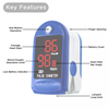 Real Manufacturer CE FDA CMS50D Finger Pulse Oximeter OLED Display
