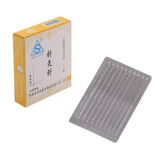 Sterile Disposable Spring Handle Acupuncture Needle without Tube